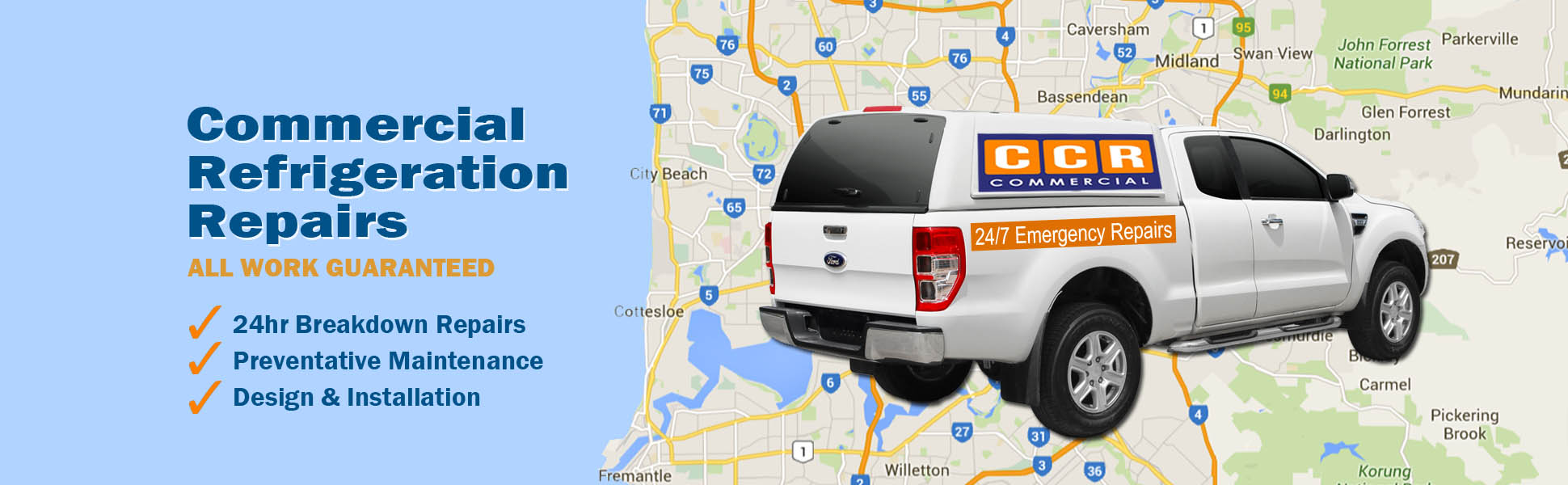 CCR Commercial Refrigeration Perth Repairs Sales Service